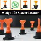 40/50/100Pcs Tile Leveling Floor Tie Kit Alignment Clip Reusable Spacer Locator