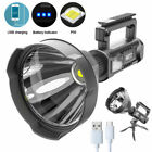 200000LM XHP50 LED Flashlight Work Light USB Rechargeable Searchlight 4 Modes