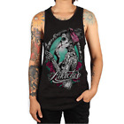 Addictive Clothing - 'Belleza Catrina' Tatuaje Tanque Top Alternativa M,L,XL