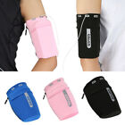 Arm Band Cell Phone Holder Key Bag Pouch Case Sports Gym Running Jogging Acces