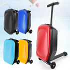 20'' Luggage Scooter Suitcase 2 In1 Trolley Luggage-carry Luggages Travel Bag Us