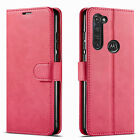 For Motorola Moto G Stylus Case, Premium Wallet Cover + Tempered Glass Protector