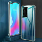 For Huawei P40 Lite P30 Pro P20 Mate 20 Clear Shockproof Silicone TPU Cover Case