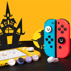 2 Pairs Halloween Ghost Thumb Grip Caps Joystick Cover for Nintendo Switch/Lite