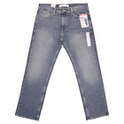 Levi Strauss Men's Blue Signature Relaxed Denim Jeans S61