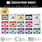 Внешний вид - Low Temp Plastisol Ink For Screen Printing - Cures at 270 F - 12 Colors