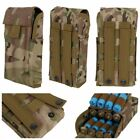 Tactical 25Round Shot-gun Shell Scabbard Rifle Reload Holder Molle Carrier Pouch