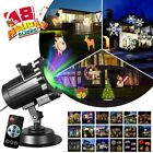 Halloween Christmas Party LED Laser Light Projector House Landscape Spotlight US