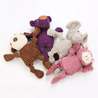 FJ- EE_ CW_ New Pet Dogs Puppy Cute Elephant Shape Plush Doll Interactive Chew S