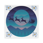 Pillow Cases covers Christmas Santa Claus reindeer new year