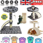 UK Cat Scratch Board Scratching Tower Bed Activity Centre Sisal Play with Toys