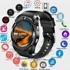 V8 Smart Watch Bluetooth Touch Screen SIM Phone  Camera Tracker For Android/iOS