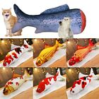 1pc Catnip Simulation Fish Shape Toy Pet Cat Kicker Kitten Scratching Play Plush