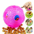 Pet Cat Dog Chew Teether Food Leakage Dispense Ball Interactive Toy DEL