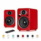 Steljes NS3 Powered Loud Speakers Stereo System Subwoofer British Design Compati