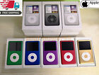 NEW Apple iPod Classic 6th 7th Gen Blue Purple Gold Red 80GB/120GB/160GB/256GB