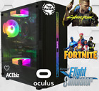 Rgb Gaming Pc Core I7 I5 4th Gen Ssd Wifi Oculus Vr Hdmi Desktop Computer Win 10