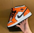 MENS AIR JORDAN 1 MID SE TURF ORANGE Size 8-12 DD6834-802