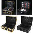 Large Barber Suitcase Password Lock Carrying Case Hair Trimmers Tool Box