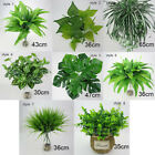 Artificial Plant Indoor Outdoor Decor Green Grass Foliage Bush Cloth Home Office