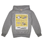 Despicable Me Kid's Heather Grey Say Banana L/S Pullover Hoodie