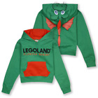 Legoland Kid's Ollie The Green Dragon Florida Resort Pull Over Hoodie S02