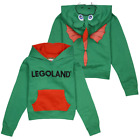 Legoland Kid's Ollie The Green Dragon Pull Over Hoodie S08