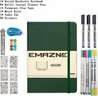 Bullet Journal Kit Classic Hardcover Notebook A5 120g Acid-free paper by Emazne