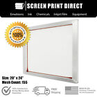 "Внешний вид - Ecotex® Aluminum Frame Screens For Screen Printing 20"" x 24"" - 155 White Mesh"
