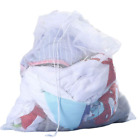 Large Drawstring Laundry Washing Bags Mesh Large Net Clothes Washing Protector