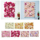 "Flower Panels 24""x16"" Flower Wall Screen Romantic Artificial Floral Backdrop"