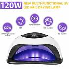 2021 New 168W LED Nail Dryer UV Lamp Gels Cure Light Salon Manicure Fast Dry LCc