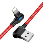 90 Degree USB Charger Cable 6 Ft USB iPhone Charger Fast Charging Data Sync Cord
