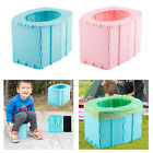 Portable Folding Potty Toilet Seat for Toddler Outdoor Boys