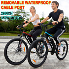 VIVI Electric Bike, 26/27.5 Inch Electric Bikes for Adults Mountain Bike 350W ..