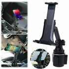 "Universal Car Cup Holder Cellphone Mount Stand for 4.7-12.9"" Mobile Phone Tablet"