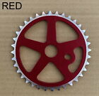 "36T ALLOY CHAINWHEEL SPROCKET 1/2""x1/8""x36T, 3Colors: Blue, Gold, Red"