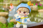 Hand-made Oh Se Hun XiaoZhan Doll Clothes Suit Blue Bear Outfit Prop N