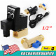 """110V 1/2"""" Electronic Timed 2way Air Compressor Gas Tank Auto Drain Valve w/Cable"""