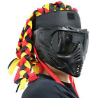 Tactical Mask Strap Half Face Mask  Nylon To protect the forehead Hair braid