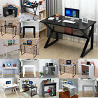 Folding Computer Desk Wooden Foldable Study Table Laptop PC Table Home Office...