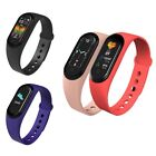 Smart Bracelet Blood Pressure Heart Rate Health Monitor Waterproof Bracelet