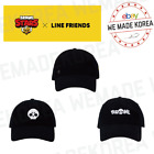 BRAWL STARS x LINE FRIENDS Embroidery Washing Cap 3 options Authentic Goods
