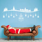 Merry Christmas Home Wall Window Sticker Vinyl Gift Decal Shop Xmas Decoration