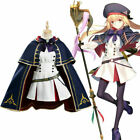 Fate/Grand Order FGO Altria Pendragon Cosplay Costume Dress Outfit Suit///