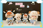 Original Hand-Made Plush Doll Clothes Clothing Outfit Sheep Suit Dairy Cow Set N