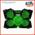 Gaming Laptop Cooler Cooling Pad with 5 LED Fans for 12-17 Laptop