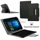 "for Universal 10.1"" Android Tablet Leather Case w/ Detachable Wireless Keyboard"