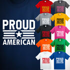 Proud Star American Kids TShirt Patriotic Military Force New gifts T-shirt Tee