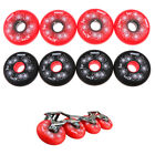 4 Pieces Inline Roller Hockey Fitness Skate Replacement Wheel 84A